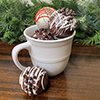 hot chocolate bomb - milk chocolate